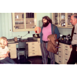 David Connor, center, pictured with an apprentice and her mentor in 1973, co-founded The Learning Web with Michele Whitham in 1972.